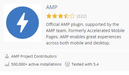 AMP插件